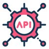 Sales and commission are tracked through API